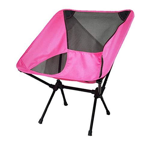Último Silla plegable al aire libre Potable reclinable playa Pony Zha Camping boceto pesca luna silla plegable taburete fricción y resistencia al desgarro Adecuado para camping al aire libre, viajes,