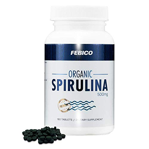 Organic Spirulina Tablets- by Febico review