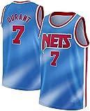 ZRHZB Brooklyn Nets #11 Irving #7 Durant Camiseta de Baloncesto para Hombre Fan Transpirable...