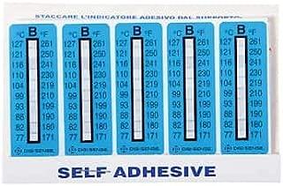 Digi-Sense Irreversible 6-Point Horizontal Temperature Label 460-554F//240-290C; 10//Pk