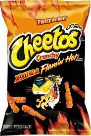 Cheetos XXtra Flamin' Hot Crunchy - 8.5 Oz (6pk)