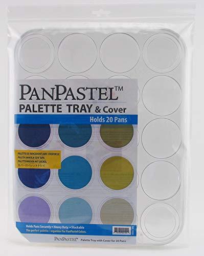 Plateau (vide) pour 20 couleurs Panpastel - Panpastel