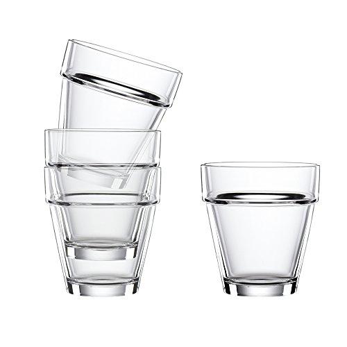 Spiegelau & Nachtmann, 4-teiliges (L) Tumbler-Set , Kristallglas, 320 ml, Bistro, 2670140