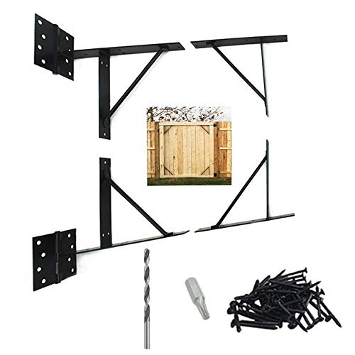 SCOTTCHEN PRO Anti Sag Gate Corner Brace Bracket No-Sag Kit for Shed Doors, Corral Gates, Wood Windows