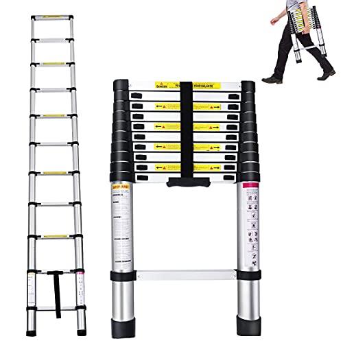 ZOMOM Telescoping Ladder, 10.5 FT...