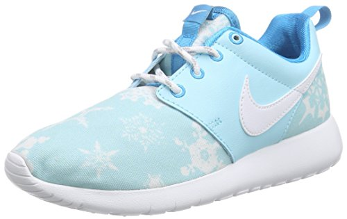 Nike Roshe One Print (GS), Scarpe da Ginnastica Unisex-Kids, Azzurro, 38.5 EU