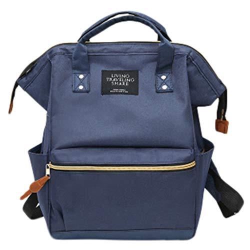 Riou Damen Rucksack Reiserucksack Große Kapazitat wasserdichte Reißverschluss Praktische 2 in 1 Handtasche Tasche Daypack