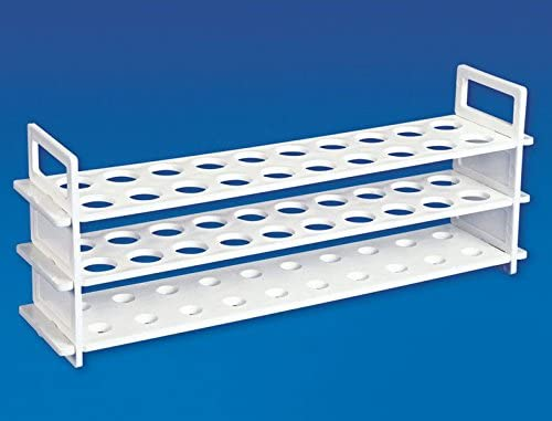 Polypropylene Test Tube Stand 3 Tier 16 mm x31 Holes