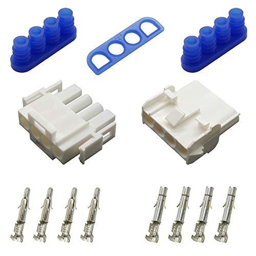 Stecker Set Steckverbinder gedichtet Universal Mate N Lok 4-polig und Kontakte