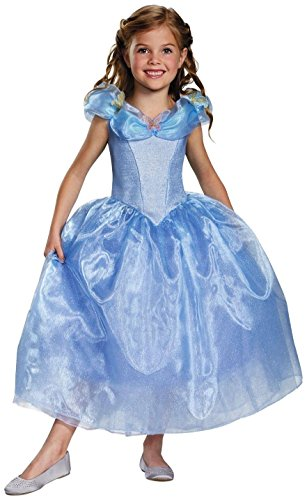 Disguise Cinderella Movie Deluxe Costume, Small (4-6x) - http://coolthings.us