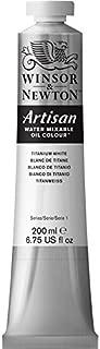 Winsor & Newton, Titanium White Artisan Water Mixable Oil Colour Paint, 200ml Tube, 200-ml
