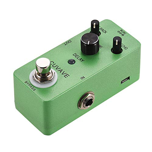 Tomshin DELAY Analog Classic Delay Echo Guitar Effect Pedal Zinc Alloy Shell True Bypass