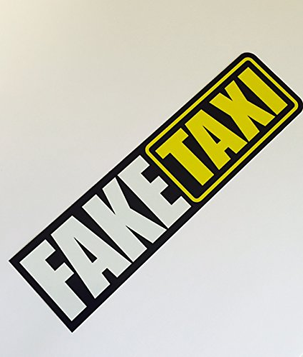 Schönheits Shop Fake Taxi Shocker Autoaufkleber Tuning Sticker Dub Decal Dapper Illest Turbo JDM