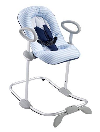 Béaba 915018 - Hamaca bebe regulable en altura, unisex, color azul celeste