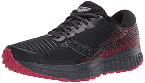 Saucony Women's S10558-20 Guide 13 TR Trail Running Shoe, Black | Burberry - 7 M US