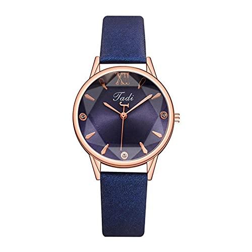 Uhr Damen Armbanduhr Damenuhren Quarzuhr Watch für Frauen Damen, Damen Damen Leder Quarz Analog Kleid Armband Armband Quarzuhr Mädchenuhr Damenuhr
