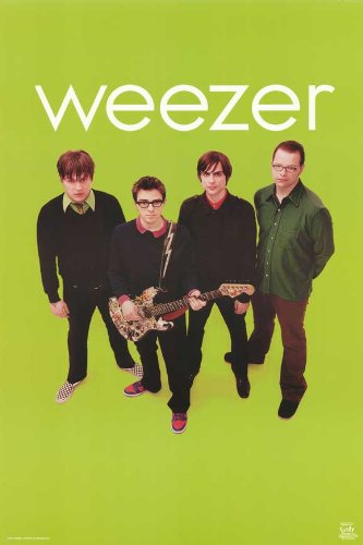 Pop Culture Graphics Weezer - Music Poster - 24 x 36