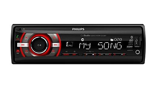 Philips phice235bt - autoradio, kleur zwart