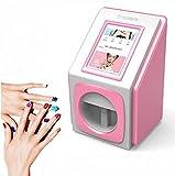 GUDEMN Impresoras de uñas 3D Máquina de Pintura portátil Transferencia inalámbrica móvil automática Impresoras Digitales de uñas Totalmente Inteligentes