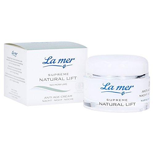 La mer Supreme Natural Lift Anti Age Cream Nacht 50 ml ohne Parfum