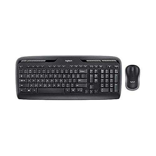 Logitech MK320 Wireless Mouse and Keyboard Combo for Computers Laptops Bundle (1-Pack)