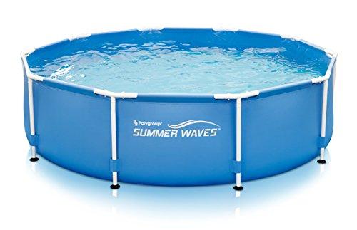 Summer Waves10'x30'Metal Frame Pool with Skimmer Plus Filter System