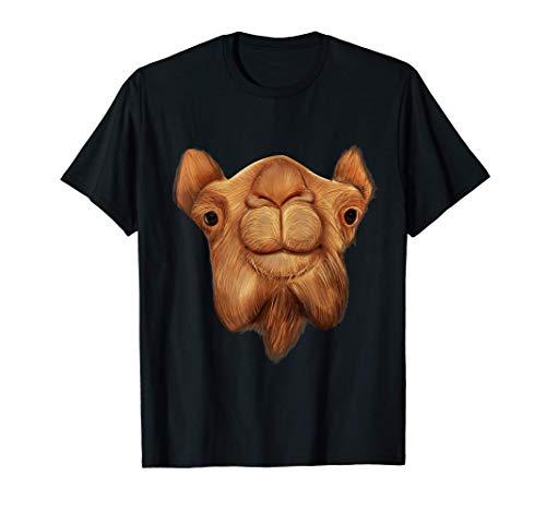 Kamel Dromedar Kopf Gesicht Bild Kleidung Geschenk Kamel T-Shirt
