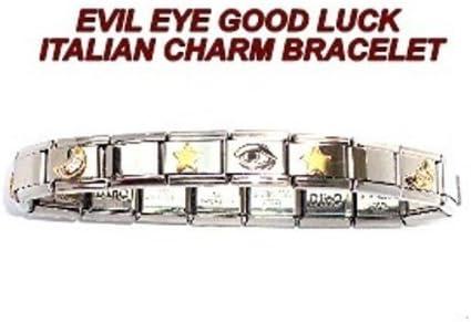 TUCCI CHARMS San Jose Mall depot Evil Eye Charm Italian Bracelet