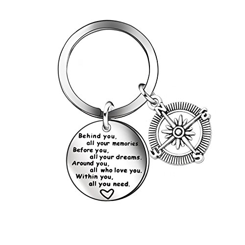 Women Men Jewelry Keychain Key Chains Rings Gift for Family Couples Children