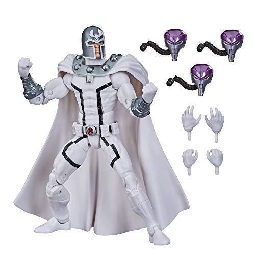 Marvel Figura de acción Coleccionable de Magneto de X-Men de 15cm de Hasbro Legends Series, con 4 Accesorios, a Partir de 4 años