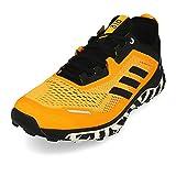 adidas Terrex Agravic Flow, Zapatillas de Running Hombre, Dorsol/NEGBÁS/FTWBLA, 41 1/3 EU
