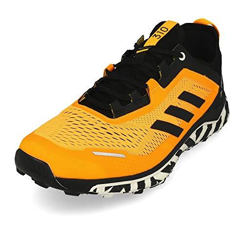 adidas Terrex Agravic Flow, Zapatillas de Running para Hombre, Dorsol/NEGBÁS/FTWBLA, 41.33 EU