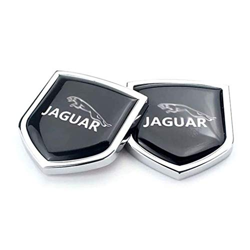 Coche Rejilla Insignia Etiqueta Engomada,para Jaguar Sport XJ XS XK XF F Pace XType S Type E Pace XJL XKR XJS Car Metal Emblema Pegatina Accesorios Decorativos