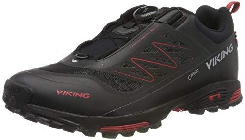 viking Unisex Anaconda Light BOA GTX Trekking- & Wanderhalbschuhe, Black/Silver, 41 EU