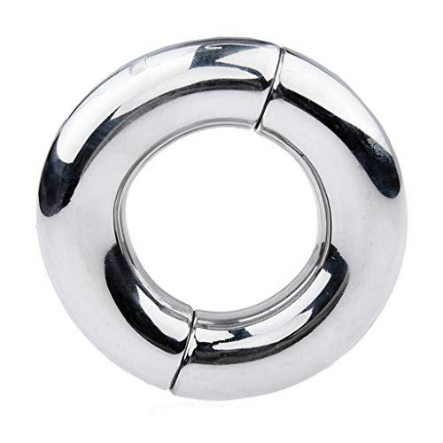 Acero Inoxidable Magnético Bloqueo Del Metal De La Jaula Juguete Retardo Sxxx Cook Ring