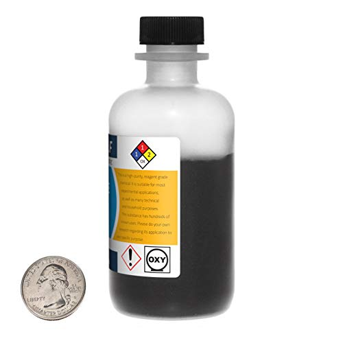 Manganese Dioxide / 8 Ounce Bottle / 99% Pure Reagent Grade/Fine Powder/USA