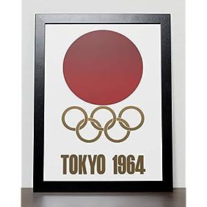 Plakat der Olympischen Spiele Poster – Tokyo 1964