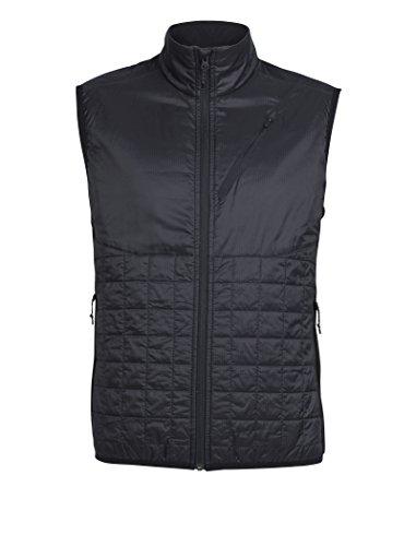 Icebreaker Herren Weste Helix Vest, Black, S