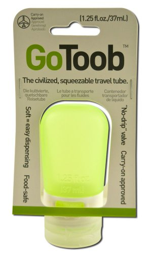 Humangear, Tube Travel Gotoob Lime Green 1.25 Ounce