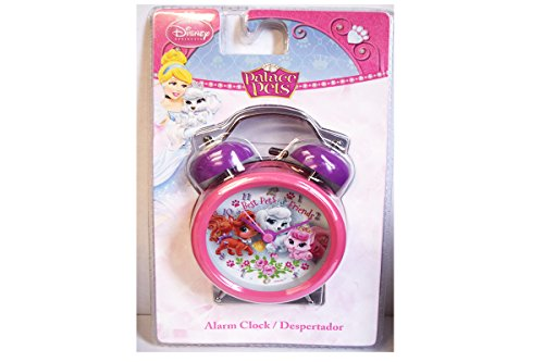 Disney- Princess Palace Pets Horloge, WD16061, 9 Cm