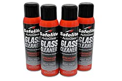 Safelite Glass Cleaner, 19 ounces, 4 pack