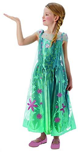 Disney - Disfraz Elsa de Frozen para niñas, talla M (I-610906M)