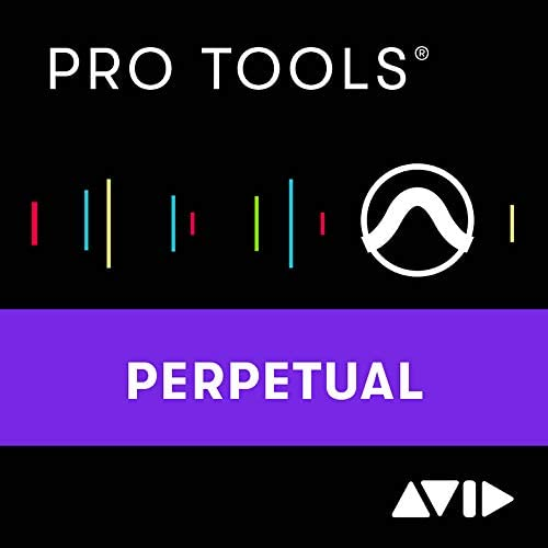 Pro Tools Perpetual License NEW 1 year software download with updates support for a year product image