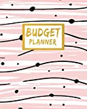Budget Planner: Start at any time in the year with this UNDATED pastel pink bill payment tracker '12 Months...
