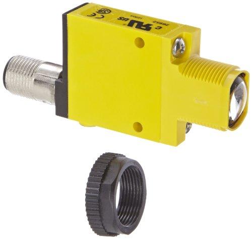 Banner SM31ELQD Mini Beam Fotoelektrischer Sensor, gegen Modus Emitter, Pin euro-style QD-Stecker, Infrarot-LED, 10–30VDC Supply Spannung, 30m Sensing Range