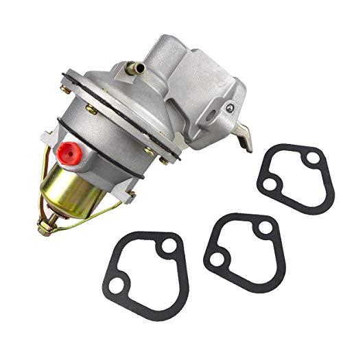 Mechanical Fuel Pump Fits for 1995-2001 MerCruiser Mercury Marin MC120 MC165 MC170 MC180 MC190 MC470-1 MC488 Engine Penta 2.5L 3.0LX 3.0L 3.7L 3.7-LX, 3854858 42725A3 9-35422 509407 18-7282