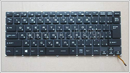 New Japan Laptop Keyboard for for MSI Steelseries GS43 GS40 GS40-6QE81FD GS43VR JP Keyboard Backlit