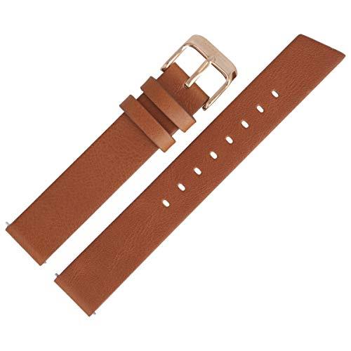 Liebeskind Berlin Uhrenarmband 16mm Leder Braun Glatt - B_LT-0180-LQ