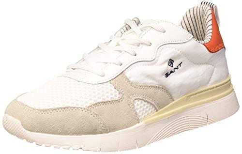 GANT Footwear Herren MC Park Sneaker, Weiß (White G29), 45 EU