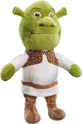 Schmidt Spiele 42713 DreamWorks Shrek - Peluche pequeño (18 cm), Multicolor